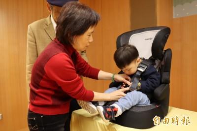新北抽查兒童安全座椅6件不合格 半數中國生產
