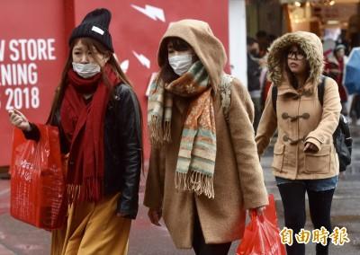 冷氣團影響至明晨 吳德榮:下週一清晨仍有極低氣溫