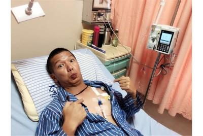 軍人本色!國軍士官長勇敢抗癌 插人工血管通過體測