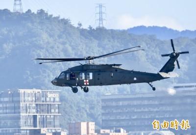 失事後全面檢測過關  空軍黑鷹直升機隊2月辦成軍典禮