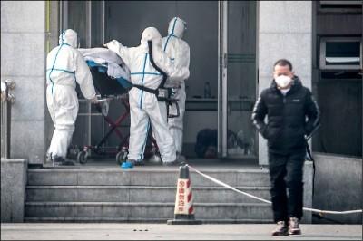 武漢肺炎病例激增  中國專家:因為檢測方法更新
