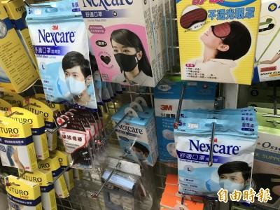 武漢肺炎》北市部分藥局 N95口罩賣到缺貨