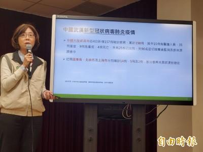 武漢肺炎》國內通報疑似個案增2例 初步檢驗6點出爐