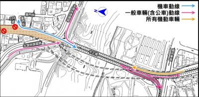 重慶南路高架23~27日封閉拆除 中正橋台北端改道
