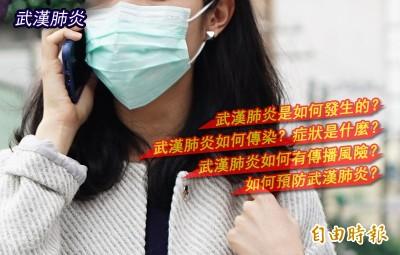 武漢肺炎懶人包》傳染途徑、預防之道全在這裡…