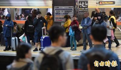 武漢肺炎》台鐵設防疫聯絡小組 發現疑似案例將全面消毒