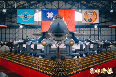 世界首批完成換裝F-16V型機作戰隊 總統:讓空軍戰力更堅強