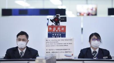 武漢肺炎》日本確診首例 中國發燒男性吃退燒藥入境