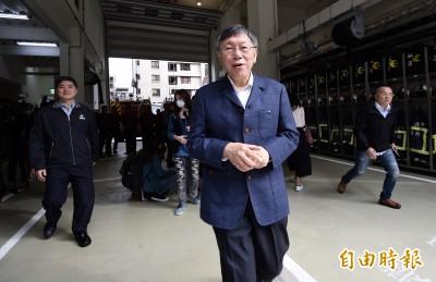 武漢肺炎》柯文哲:中國報喜不報憂 容易延誤疫情是最大問題
