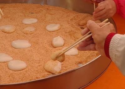 寺廟藏美食!客家麻糬、薑茶小湯圓 竹市邀民眾來趟另類寺廟小旅行
