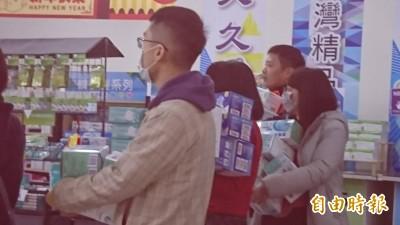 武漢肺炎》緊急休館!彰化口罩廠3小時賣6萬片 N95口罩賣光光