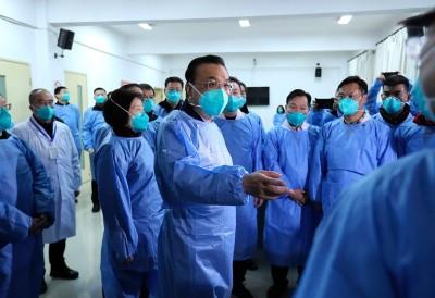 武漢肺炎》受習近平所託 中國總理李克強赴武漢視察疫情
