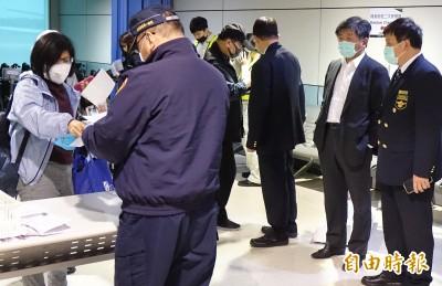 武漢肺炎》視察桃機防疫 陳時中:旅客若不配合抓起來法辦