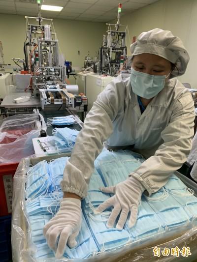 武漢肺炎》彰化口罩工廠配合政府限購 明起1人只能買1盒