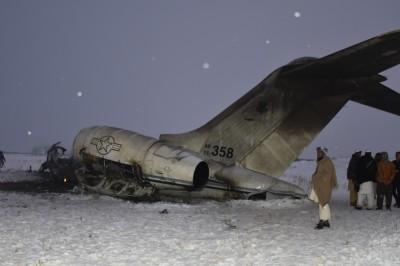 美證實軍機墜毀阿富汗 傷亡人數仍不明