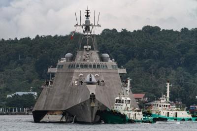 2020年首度執行「航行自由」美近岸戰鬥艦通過南沙群島