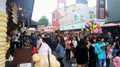 台南景點湧人潮 春節遊客逾640萬人次