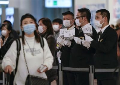 武漢肺炎》日本第2架撤僑專機降落東京 預定13人送醫