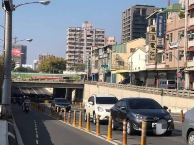 高雄人注意!中華地下道填平 2/1起封閉12天