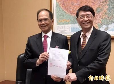 林志嘉續任立院秘書長 曾與游錫堃爭選新北市長