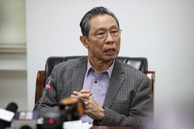 武漢肺炎》鍾南山再談疫情 指中國疫情仍處於「上升期」