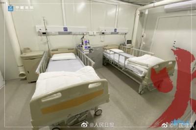 武漢肺炎》中國火神山醫院8天完工 病房內部格局曝光!