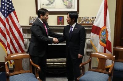 賴清德訪美會參議員盧比歐 共商增強台美關係、參與WHO