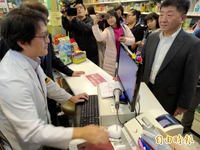 口罩購買實名制明上路 陳時中、記者到藥局實測「10秒內完成」