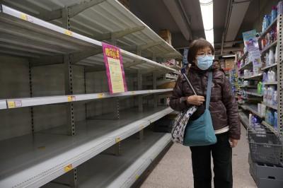 香港謠傳物資恐短缺 市民搶買民生用品