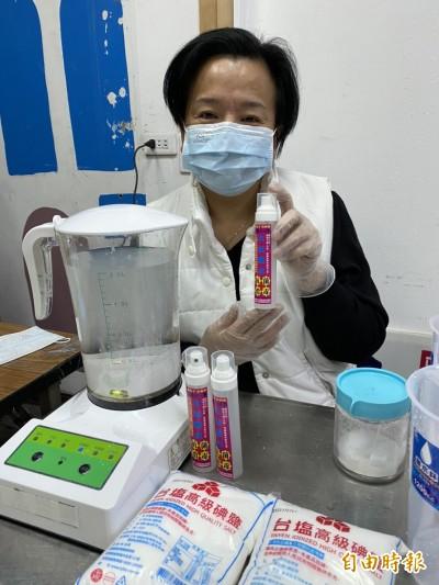 武漢肺炎》次氯酸消毒水 口罩重覆使用拿來噴