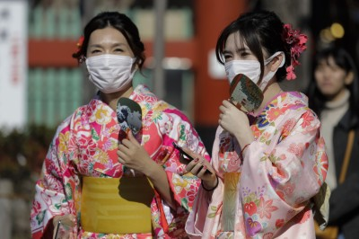 武漢肺炎》日本衛材公會:10億口罩庫存2週內被掃光