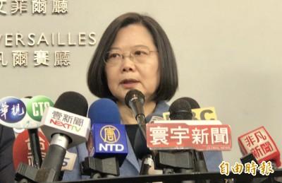 疫情延燒軍機又擾台 蔡英文告訴中國:快把疫情控制住