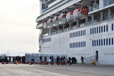 武漢肺炎》鑽石公主號確診70例 日考慮船上3600人全都篩檢