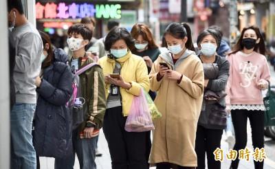 武漢肺炎》2/11起醫療院所口罩倍增 每日13萬片給特殊病患