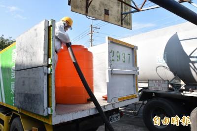 武漢肺炎》台塑送出17噸漂白水 雲林全縣公共場所大消毒