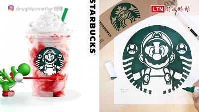 迪士尼公主代班星巴克女神? 國外繪師二創Logo讓網友大喊:超想要!