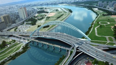 中正橋擬開放機車通行內側車道 新北態度保留