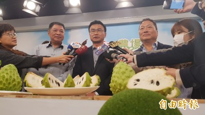 陳吉仲首登電視購物賣釋迦 外銷等級市價6折限時開賣