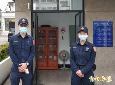 武漢肺炎》警署每3天配發口罩 保護全國8萬警察大軍
