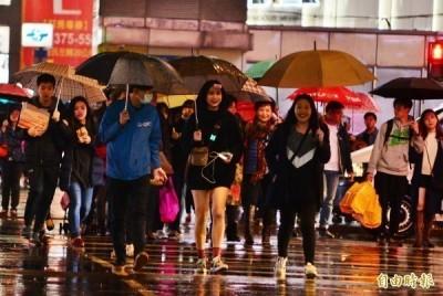 外出帶傘!氣象局發4縣市大雨特報 南投升級豪雨
