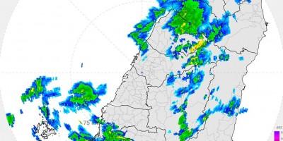 快下大雨了?氣象局超實用雷達 2分半更新一次