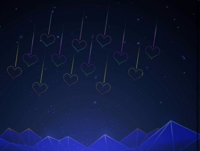情人節必逛!台灣燈會下「愛的流星雨」 浪漫景點都在這