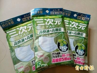 日本也瘋搶口罩!藥妝店須消費滿5千日圓 每本護照限購15片