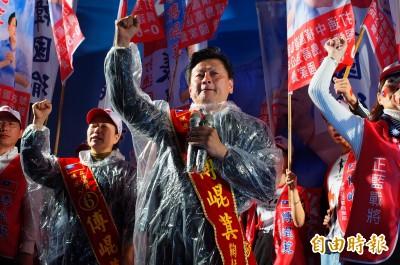 資深黨員抗議被擋在門外 花蓮黃復興黨部通過傅崐萁恢復黨籍