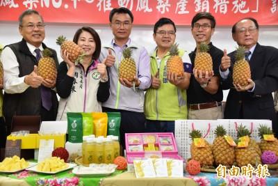 武漢肺炎》台灣鳳梨銷中減26% 陳吉仲允多管齊下提高外銷量