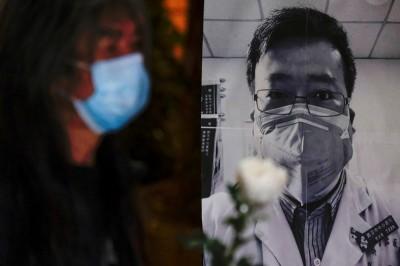 武漢肺炎》中共打壓言論自由日連署 李文亮相關圖文遭下架
