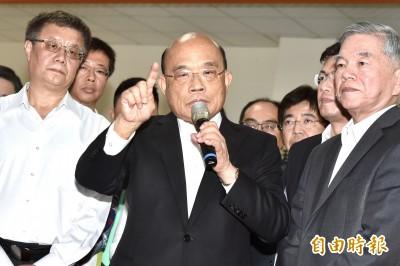 蘇貞昌下週拜訪立院各黨團 爭取支持紓困特別條例