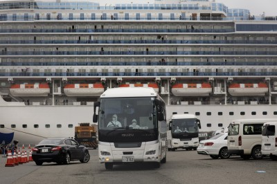 武漢肺炎》鑽石公主號全船人員採檢 陰性19日開始下船