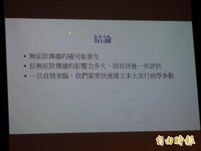 武漢肺炎》台大公衛:日本研究警惕有無症狀傳播 影響力待評估