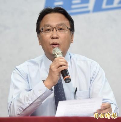 傅崐萁恢復黨籍案通過前 國民黨考紀會主委請辭